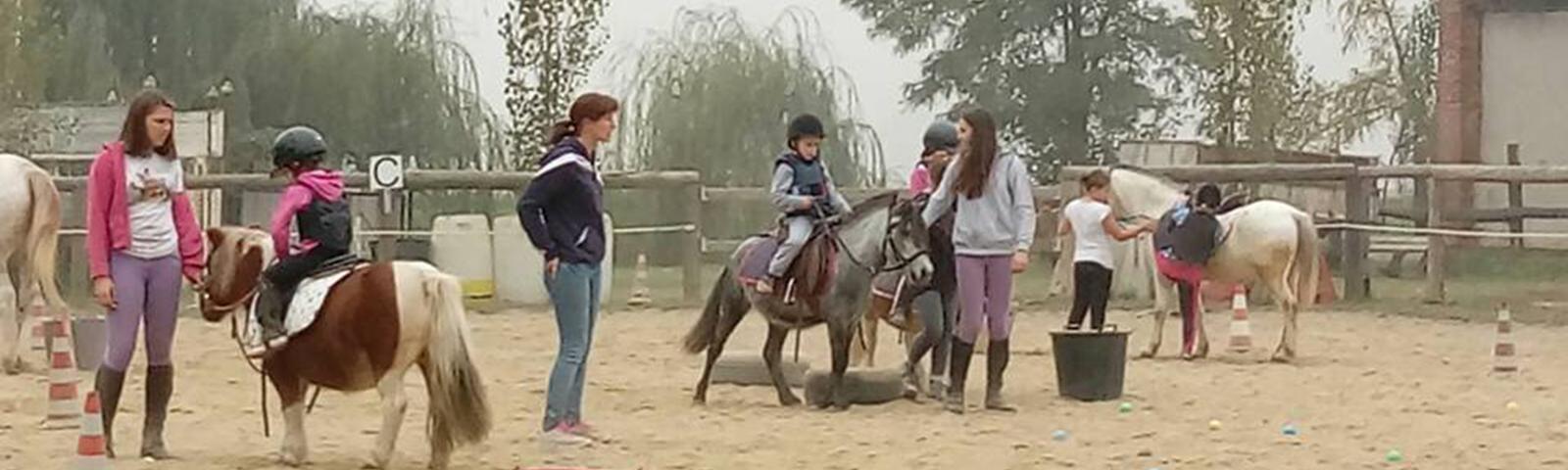 Equitazione per bambini pony games