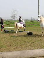 I primi salti con i pony: le lezioni di equitazione alla Cascina di Carola