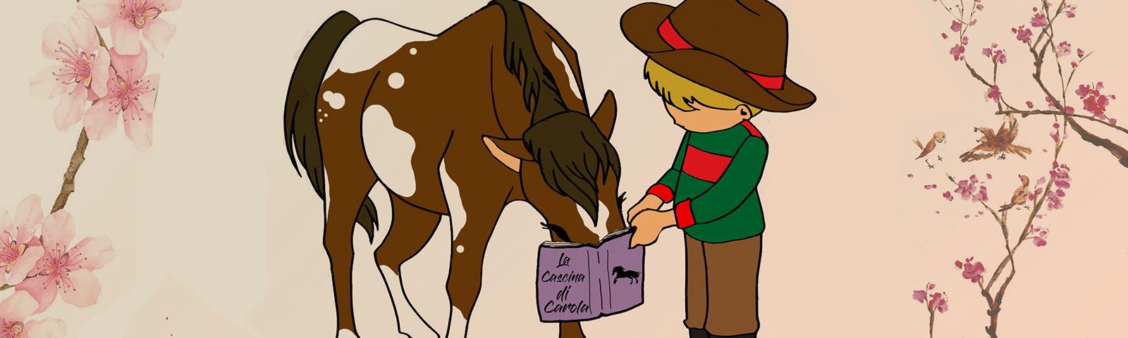 Le letture animate in scuderia alla Cascina di Carola